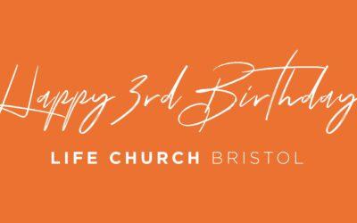 3 Years of Life Church